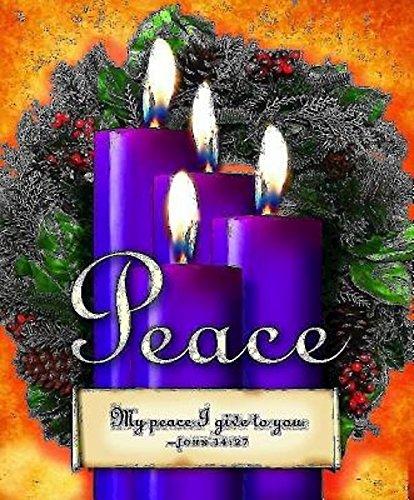 9781426772870: Advent Sunday 4 Purple Bulletin, Large (Pkg of 50)