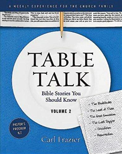 9781426775994: Table Talk Volume 2 - Pastor's Program Kit: Bible Stories You Should Know