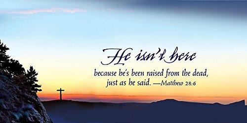 9781426777134: He Isn't Here Easter Sunrise Offering Envelope (Pkg of 50)