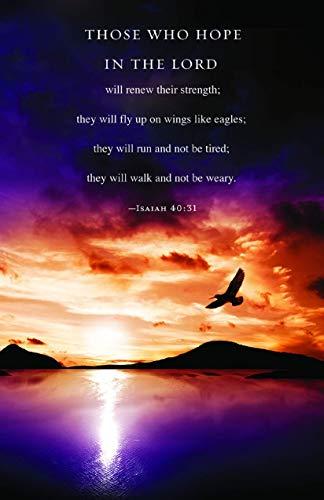 Those Who Hope Scripture Bulletin (Pkg of 50)