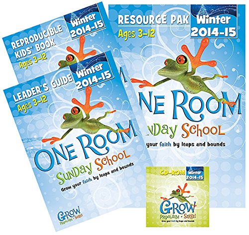 9781426782848: One Room Sunday School Kit Winter 2014-15: Grow Your Faith by Leaps and Bounds