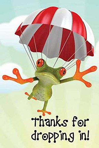 9781426783364: Thanks for Dropping In! Frog Postcard (Pkg of 25)