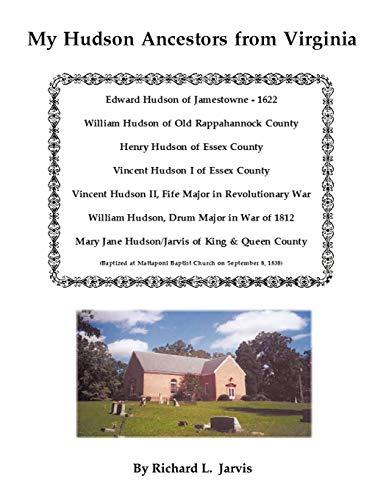My Hudson Ancestors from Virginia: Richard L. Jarvis