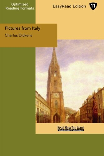 9781427003973: Pictures from Italy: Easyread Edition