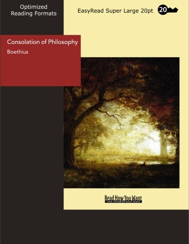 9781427007865: Consolation of Philosophy