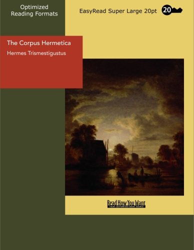 9781427012029: The Corpus Hermetica