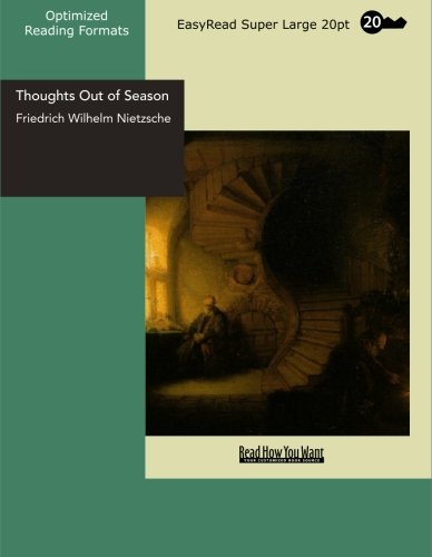 9781427014900: Thoughts Out of Season