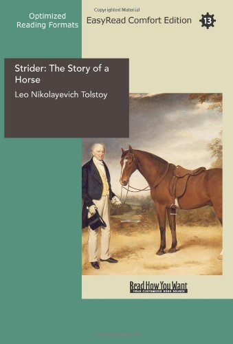 9781427017611: Strider: The Story of a Horse: Easyread Comfort Edition