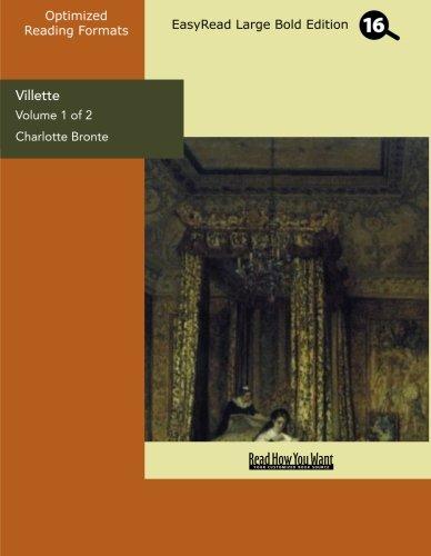 9781427019400: Villette: Easyread Large Bold Edition: 1