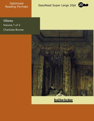 9781427022066: Villette: Easyread Super Large 20pt Edition: 1