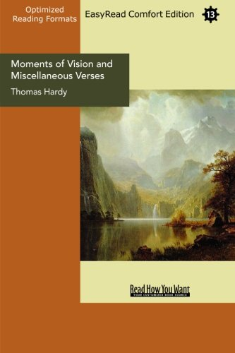 Moments of Vision and Miscellaneous Verses (1427025290) by Hardy, Thomas