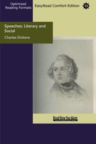 9781427025784: Speeches: Literary and Social