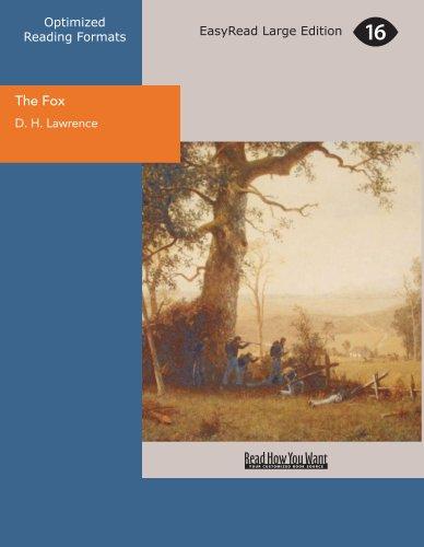 9781427027313: The Fox (EasyRead Large Edition)