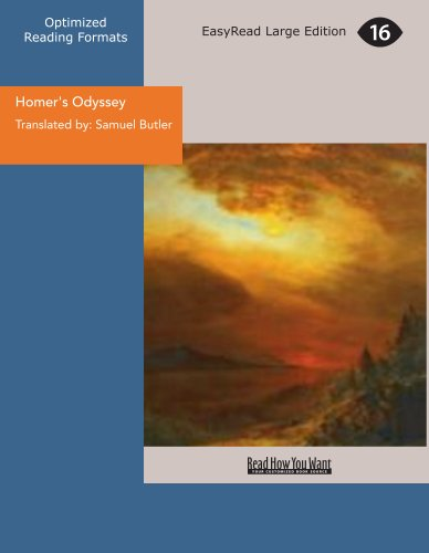 Homer's Odyssey: Samuel Translated by: Butler