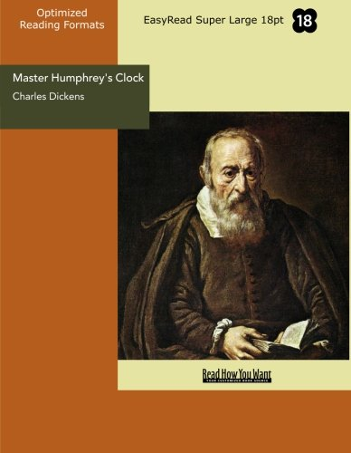 Master Humphrey's Clock (EasyRead Super Large 18pt Edition) (9781427031440) by Dickens, Charles