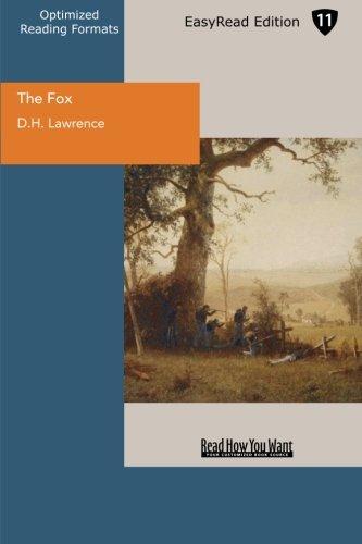 9781427032881: The Fox (EasyRead Edition)