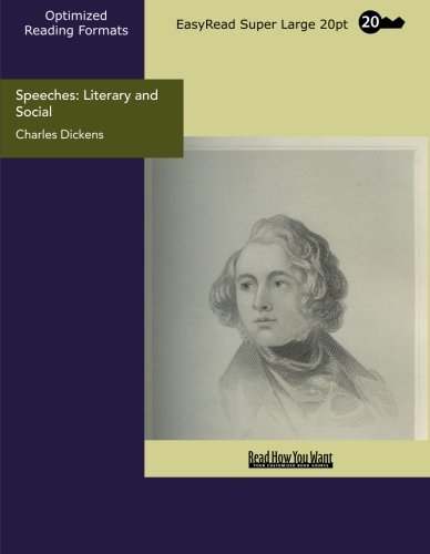 9781427036599: Speeches: Literary and Social