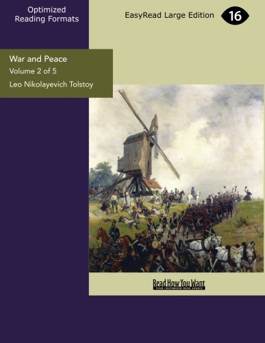 9781427038739: War and Peace Volume 2 of 5: [EasyRead Large Edition]