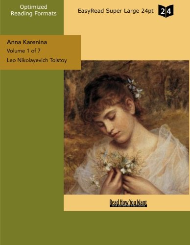 9781427038982: Anna Karenina (Volume 1 of 7) (EasyRead Super Large 24pt Edition)
