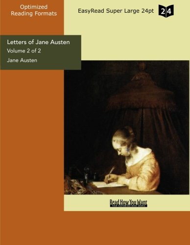 Letters of Jane Austen (1427041822) by Austen, Jane