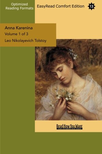 9781427044211: Anna Karenina Volume 1 of 3: [EasyRead Comfort Edition]