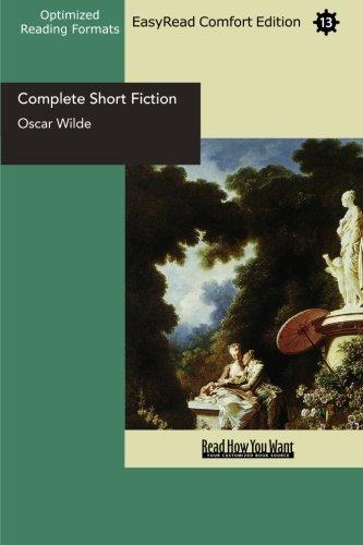 9781427045881: Complete Short Fiction  (EasyRead Comfort Edition)