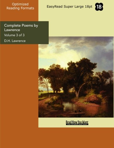 Complete Poems by Lawrence (1427049513) by D. H. Lawrence