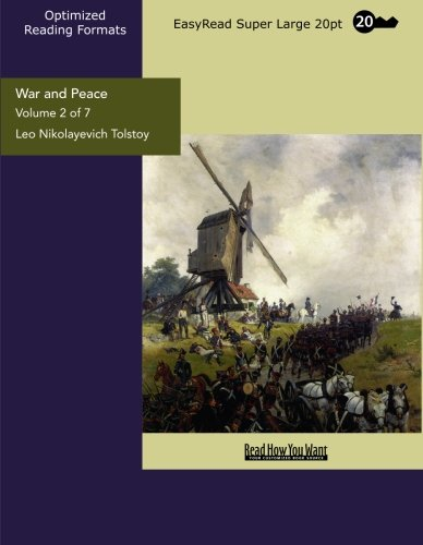 9781427049629: War and Peace (Volume 2 of 7) (EasyRead Super Large 20pt Edition)