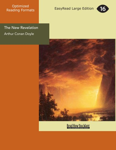 9781427055224: The New Revelation