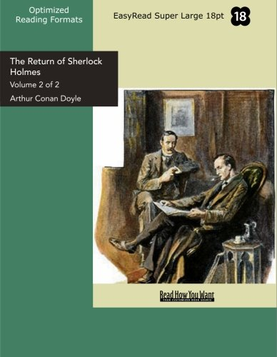 The Return of Sherlock Holmes: Arthur Conan Doyle