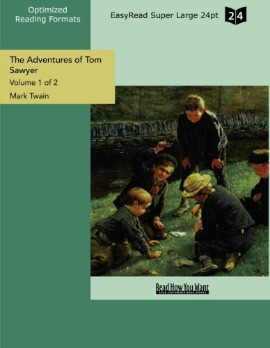 9781427068194: The Adventures of Tom Sawyer (Easyread Super Large)