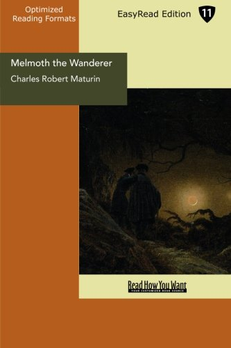 9781427071934: Melmoth the Wanderer: Easyread Edition