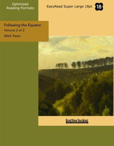 9781427077752: Following the Equator