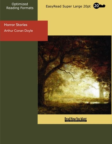 9781427081476: Horror Stories (EasyRead Super Large 20pt Edition)