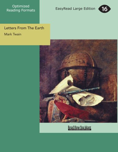 9781427081858: Letters From The Earth (EasyRead Large Edition)