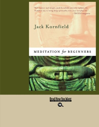 9781427085276: Meditation For Beginners (EasyRead Large Bold Edition)