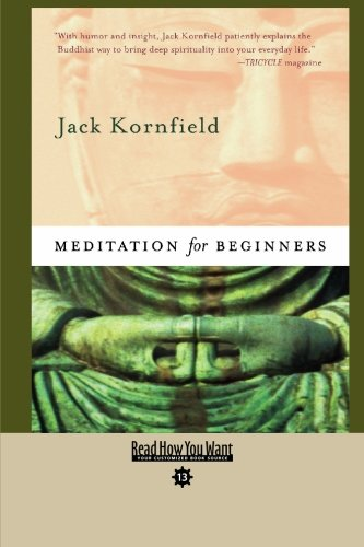 Meditation For Beginners (9781427085290) by Kornfield, Jack