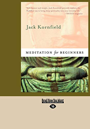 9781427085306: Meditation for Beginners: Easyread Large Edition
