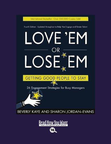 9781427085658: Love 'Em or Lose 'Em (EasyRead Large Bold Edition)