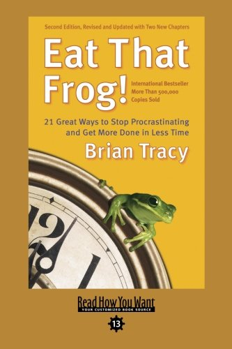 9781427085740: Eat That Frog!