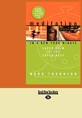9781427086693: Meditation in a New York Minute