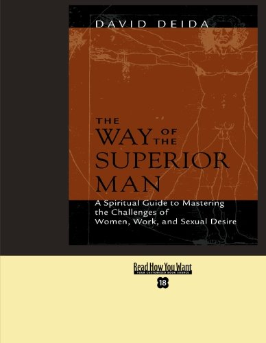 9781427086839: THE WAY OF THE SUPERIOR MAN(LARGE PRINT)