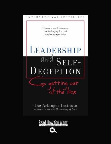 9781427087836: LEADERSHIP and SELF-DECEPTION (EasyRead Large Bold Edition)