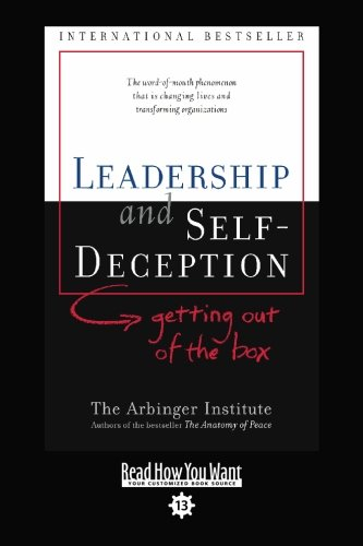 9781427087850: LEADERSHIP and SELF-DECEPTION (EasyRead Comfort Edition): getting out of the box