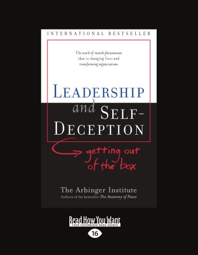 9781427087867: LEADERSHIP and SELF-DECEPTION (EasyRead Large Edition)