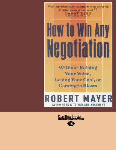 9781427090379: How To Win Any Negotiation