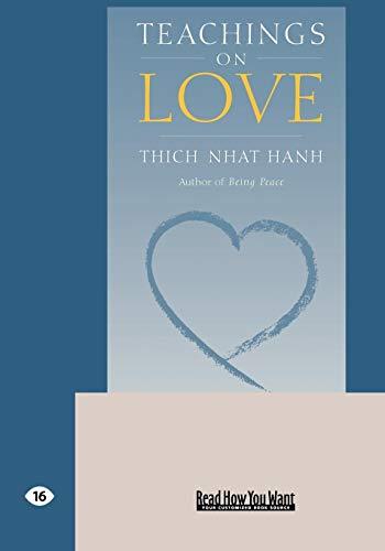 9781427093004: Teachings on Love (EasyRead Large Edition)