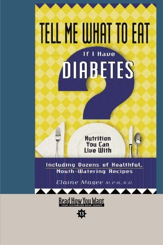 9781427093271: Tell Me What to Eat If I Have Diabetes