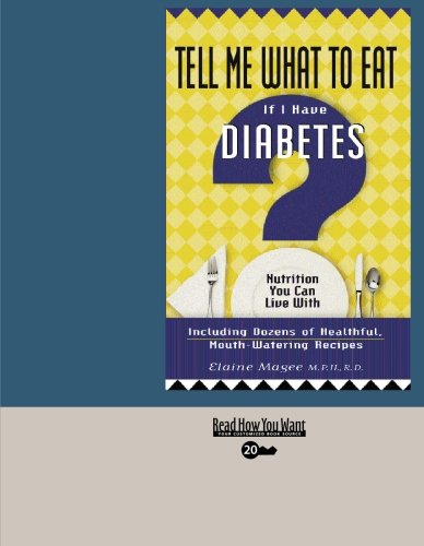 9781427093301: Tell Me What to Eat If I Have Diabetes