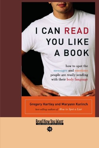 9781427095497: I CAN READ YOU LIKE A BOOK